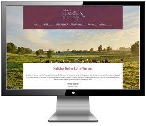Homepage für Therapiestall