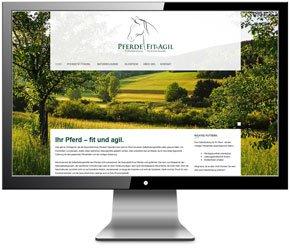 Homepage für Pferdegesundheit