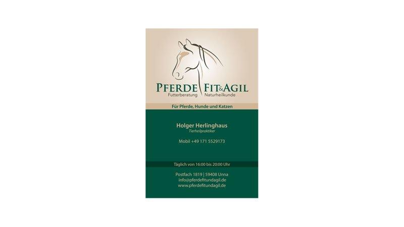 Visitenkarten Futterberatung und Pferdeheilkunde