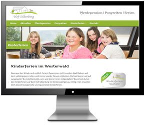 Homepages für Pferdepension