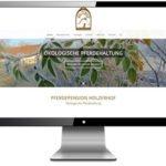 Referenz Website Pferdepension Holzerhof