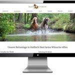 Referenz Website Gestüt von Erden